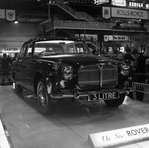Rover 3-Litre.