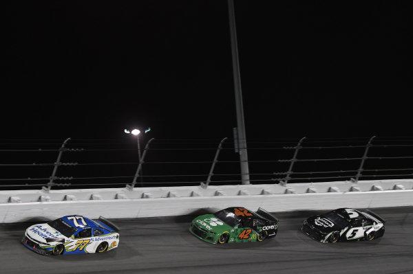#77: Jamie McMurray, Spire Motorsports, Chevrolet Camaro AdventHealth #42: Ross Chastain, Chip Ganassi Racing, Chevrolet Camaro Clover #5: Kyle Larson, Hendrick Motorsports, Chevrolet Camaro NationsGuard\