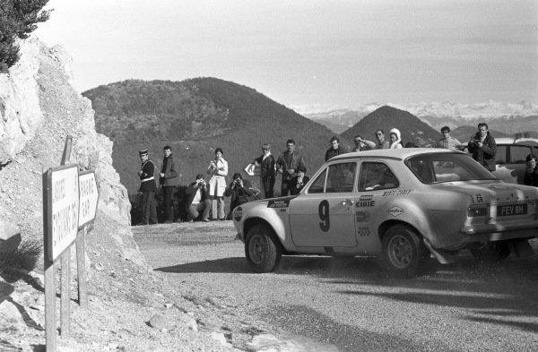 Roger Clark / Jim Porter, Ford Escort MkI.