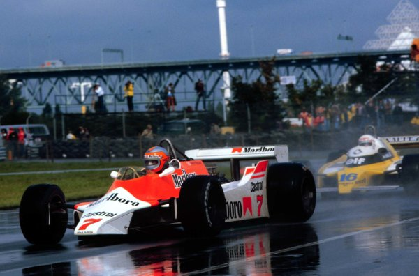 1980 Canadian Grand Prix.Montreal, Quebec, Canada.26-28 September 1980.John Watson (McLaren M29C Ford) 4th position.World Copyright - LAT Photographic