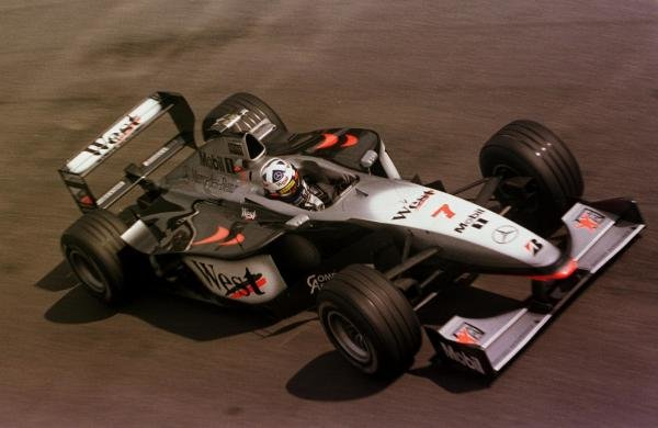 1998 Italian Grand Prix. Monza, Italy. 11-13 September 1998. David Coulthard (McLaren MP4/13 Mercedes-Benz). World Copyright - LAT Photographic