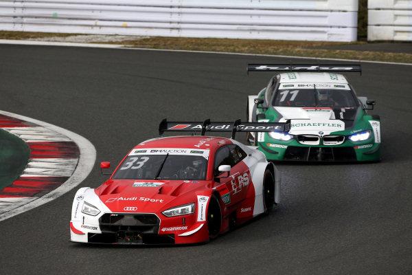 Rene Rast, Audi Sport Team Rosberg Audi RS5 DTM, Marco Wittmann, BMW Team RBM BMW M4 DTM.