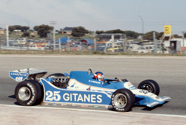 1979 Spanish Grand Prix.Jarama, Madrid, Spain.27-29 April 1979.Patrick Depailler (Ligier JS11 Ford) 1st position.Ref-79 ESP 06.World Copyright - LAT Photographic