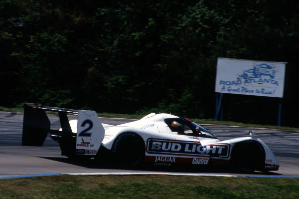 Davy Jones (USA) Jaguar Racing Jaguar XJR-14. IMSA GTP, Rd4, Road Atlanta, USA, 26 April 1992.