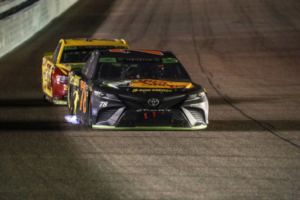 #78: Martin Truex Jr., Furniture Row Racing, Toyota Camry Bass Pro Shops/5-hour ENERGY, #22: Joey Logano, Team Penske, Ford Fusion Shell Pennzoil