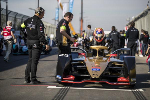 Jean-Eric Vergne (FRA), DS TECHEETAH, DS E-Tense FE19, on the grid