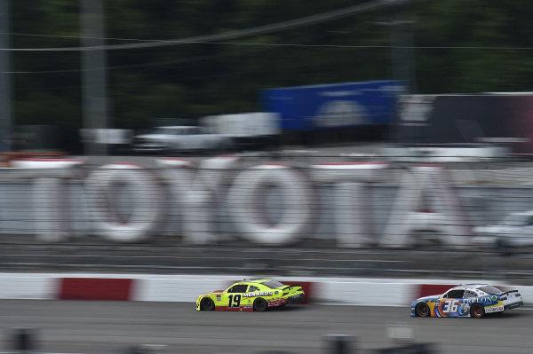 #19: Brandon Jones, Joe Gibbs Racing, Toyota Supra Menards/Atlas, #36: Alex Labbe, DGM Racing, Chevrolet Camaro DGM Racing