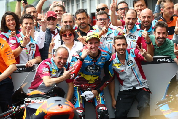 Second place Alex Marquez, Marc VDS Racing