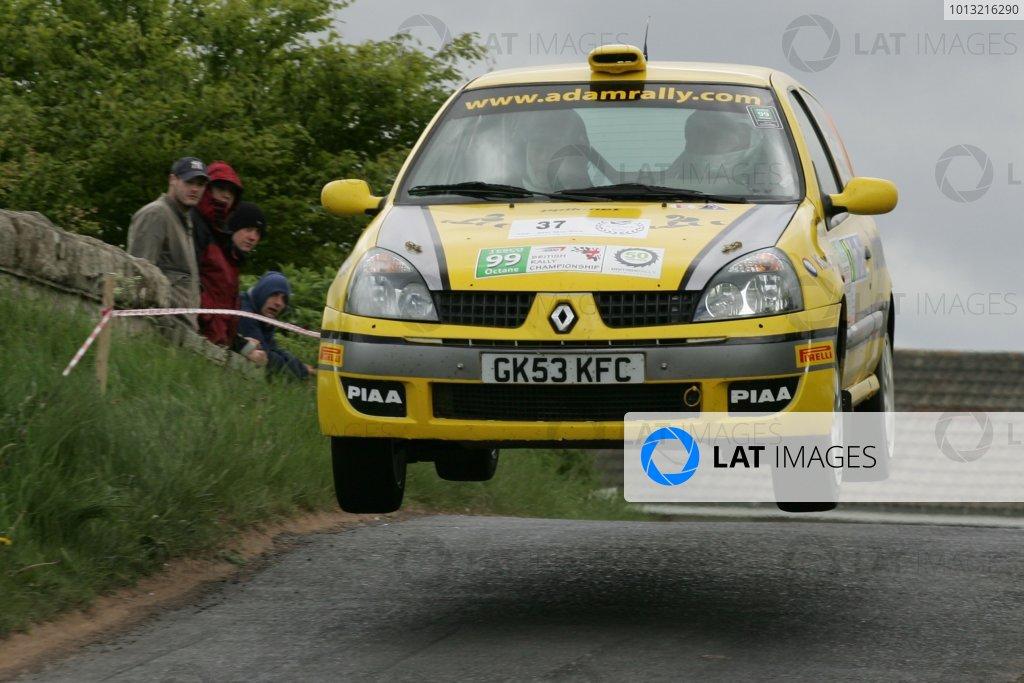 2008 British Rally Championship,Jim Clark Rally, 23rd-25th May 2008,Adam Gould Renault ClioWorld Copyright: Ebrey/LAT Photographic.