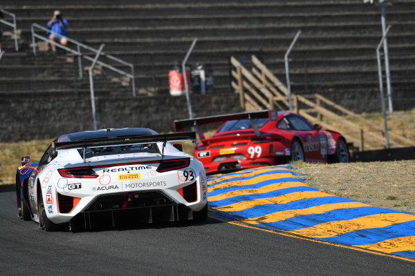 Pirelli World Challenge Grand Prix of Sonoma Sonoma Raceway, Sonoma, CA USA Sunday 17 September 2017 Peter Kox World Copyright: Richard Dole LAT Images ref: Digital Image RD_NOCAL_17_271