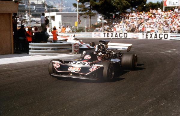 Monte Carlo, Monaco.31/5-3/6 1973.David Purley (March 721G Ford).Ref-35mm 73 MON 02.World Copyright - LAT Photographic