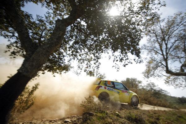 Round 04Rally Portugal 2- 5 of April 2009, Michal Kosciuszko Suzuki JWRC, ActionWorldwide Copyright: McKlein/LAT
