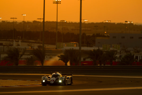 2015 FIA World Endurance Championship Bahrain 6-Hours Bahrain International Circuit, Bahrain Saturday 21 November 2015. Alexander Wurz, St?phane Sarrazin, Mike Conway (#2 LMP1 Toyota Racing Toyota TS 040 Hybrid). World Copyright: Sam Bloxham/LAT Photographic ref: Digital Image _G7C1754