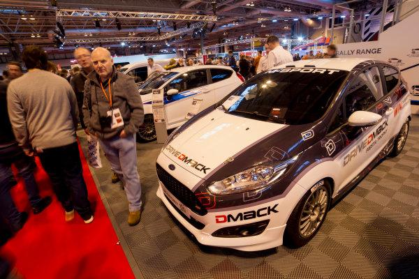 Autosport International Exhibition.  National Exhibition Centre, Birmingham, UK. Saturday 16 January 2016.  The M-Sport stand. World Copyright: Mike Hoyer/LAT Photographic. ref: Digital Image EL0G8614