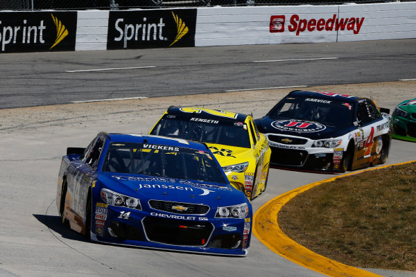 1-3 April, 2016, Martinsville, Virginia USA Brian Vickers and Matt Kenseth, Dollar General Toyota Camry ?2016, Russell LaBounty LAT Photo USA