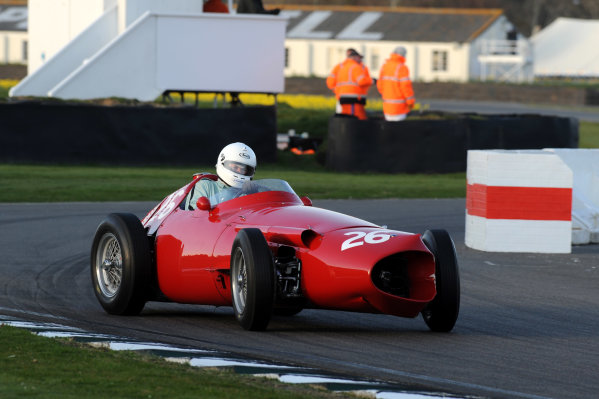 2015 73rd Members Meeting  Goodwood Estate, West Sussex, England 21st - 22nd March 2015 Race 11 Hawthorn Trophy Mark Hales Maserati 250F World Copyright: Jeff Bloxham/LAT Photographic ref: Digital Image DSC_5857