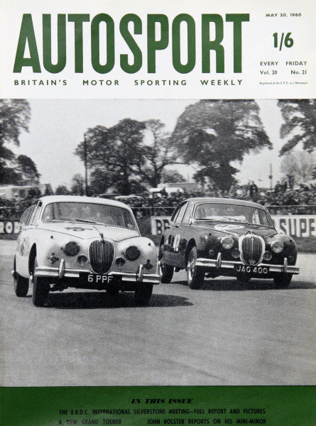 1960 Autosport Front Cover. 20th May 1960. World Copyright: LAT Photographic.