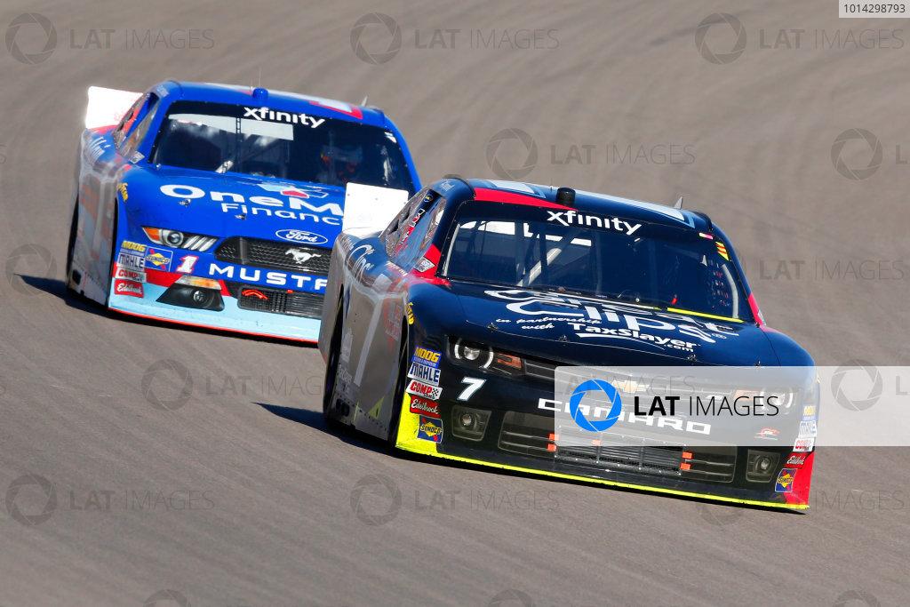 6-7 March, 2015, Las Vegas, Nevada USA Regan Smith and Elliott Sadler ?2015, Russell LaBounty LAT Photo USA