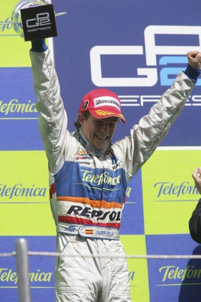 2007 GP2 Series. Round 2. Sunday RaceBarcelona, Spain. 13th May 2007. Javier Villa (ESP, Racing Engineering). World Copyright: Andrew Ferraro/GP2 Series Media Sevice  ref: Digital Image ZP9O7178