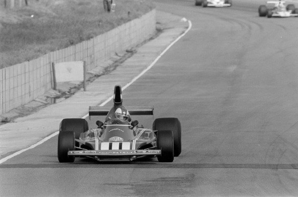 1974 South African Grand Prix.Kyalami, South Africa. 30 March 1974.Clay Regazzoni (Ferrari 312B3). Ref-6129 #27.World Copyright - LAT Photographic