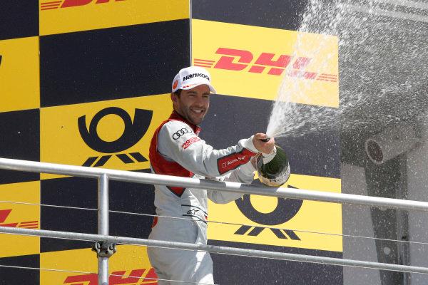 Podium: Mike Rockenfeller, Audi Sport Team Phoenix.