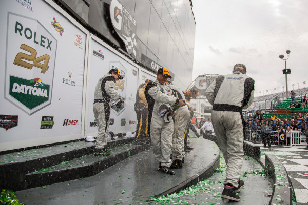 28-31 January, 2016, Daytona Beach, Florida USA 54th Rolex 24 Hours of Daytona, Prototype Challenge Celebrations ?2016, Jake Galstad LAT Photo USA