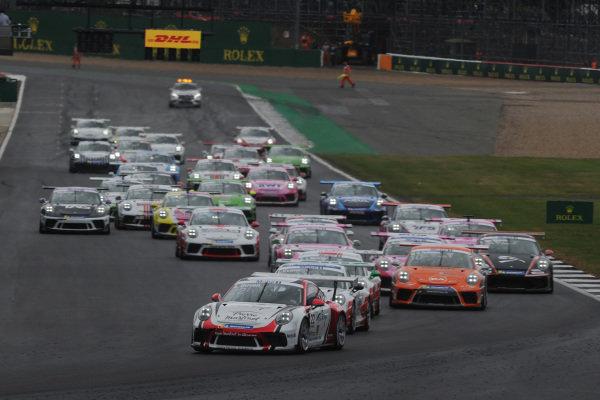 Ayhancan Guven  - Porsche leads at the start