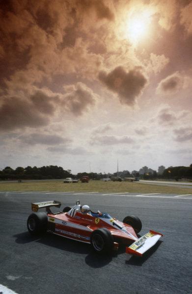 Jody Scheckter, Ferrari 312T3.