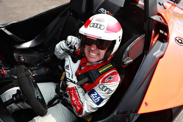 Tom Kristensen (DNK) prepares to drive
