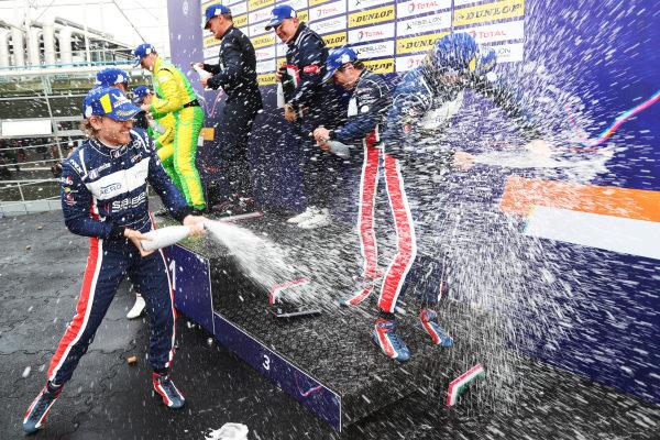 European Le Mans Series P3 Podium