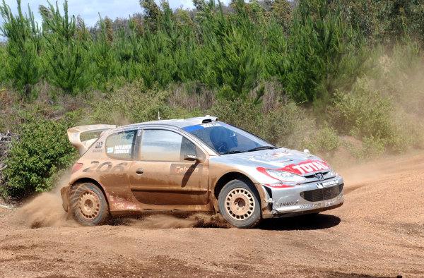 2002 World Rally Championship.Telstra Rally Australia, Perth. October 31st-November 3rd.Marcus Gronholm on stage 6.Photo: Ralph Hardwick/LAT
