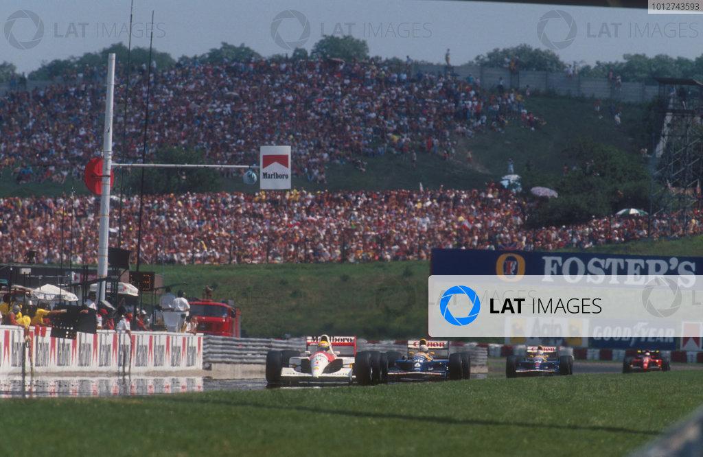 1991 Hungarian Grand Prix.