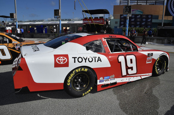 #19: Brandon Jones, Joe Gibbs Racing, Toyota Supra Toyota