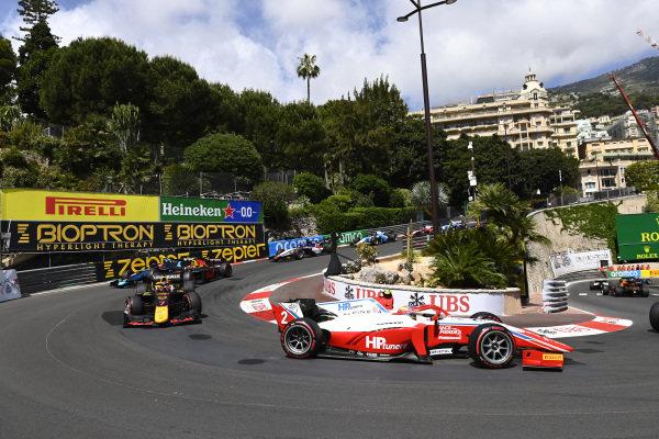Liam Lawson (NZL, Hitech Grand Prix) Oscar Piastri (AUS, Prema Racing)