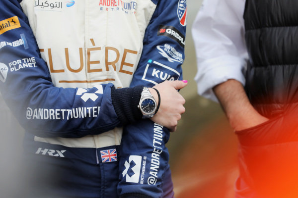 The watch of Catie Munnings (GBR), Andretti United Extreme E
