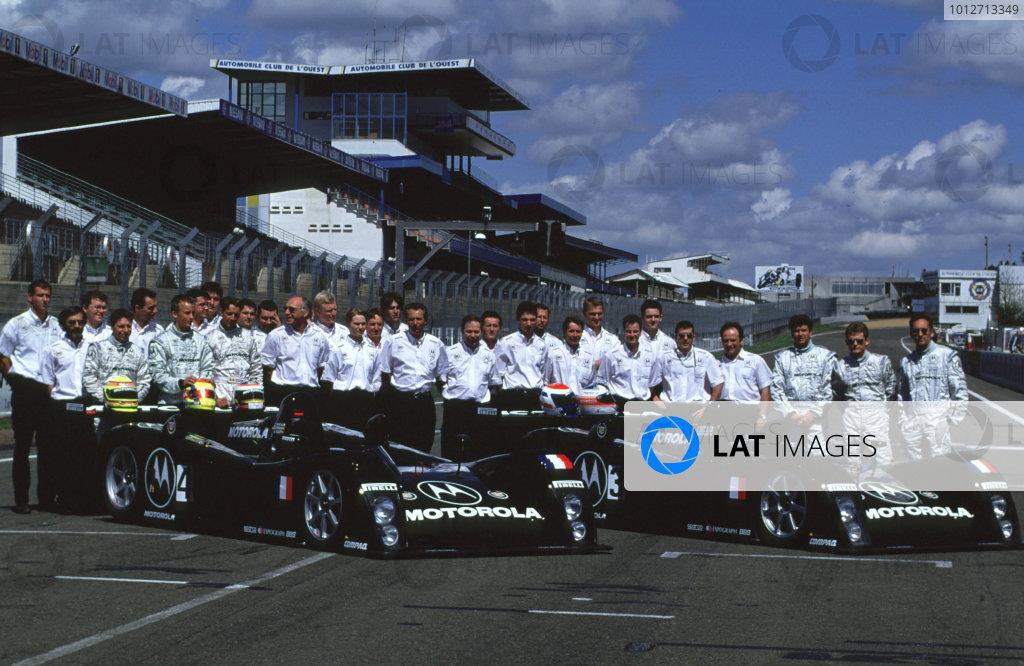 2000 Le Mans Pre-Qualifying.