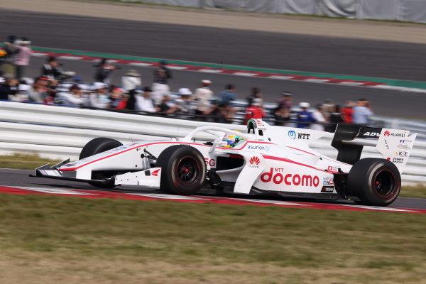 Naoki Yamamoto, DOCOMO TEAM DANDELION RACING, Dallara SF19 Honda, 2nd. Photo by Masahide Kamio