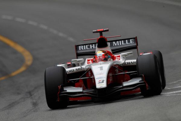 Monte Carlo, Monaco. 15th May 2010. Saturday Race.Jules Bianchi (FRA, ART Grand Prix). Action. Photo: Andrew Ferraro/GP2 Media Service.Ref: _Q0C7217 jpg
