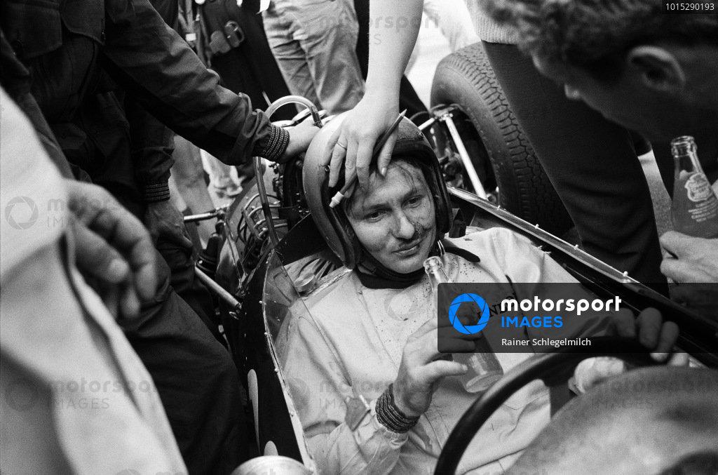 Bruce McLaren, Cooper T73 Climax. Belgian Grand Prix, 1964