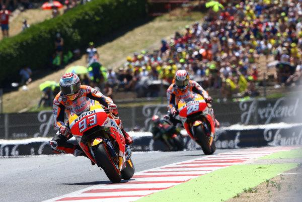 2017 MotoGP Championship - Round 7 Circuit de Catalunya, Barcelona, Spain Sunday 11 June 2017 Marc Marquez, Repsol Honda Team World Copyright: Gold & Goose Photography/LAT Images ref: Digital Image 677060