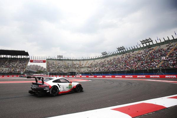 2017 World Endurance Championship, Mexico City, Mexico. 1st-3rd September 2017, #91 Porsche GT Team Porsche 911 RSR: Richard Lietz, Frederic Makowiecki  World copyright. JEP/LAT Images