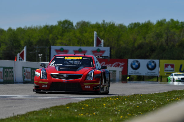 Pirelli World Challenge Victoria Day SpeedFest Weekend Canadian Tire Motorsport Park, Mosport, ON CAN Saturday 20 May 2017 Johnny O'Connell/Ricky Taylor World Copyright: Richard Dole/LAT Images ref: Digital Image RD_CTMP_PWC17064