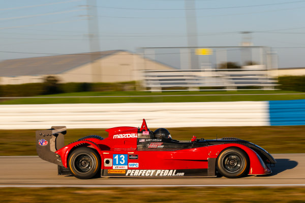 2017 IMSA Prototype Challenge Sebring International Raceway, Sebring, FL USA Wednesday 15 March 2017 13, Gary Gibson, MPC, Elan DP-02 World Copyright: Jake Galstad/LAT Images ref: Digital Image lat-galstad-SIR-0317-15019
