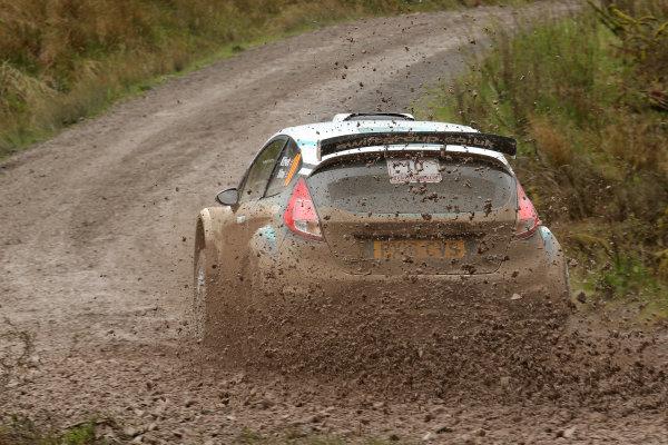 2017 Prestone MSA British Rally Championship,  Scottish Rally, Dumfries. 19th - 20th May 2017. Matt Edwards / Darren Garrod Ford Fiesta R5. World Copyright: JEP / LAT Images.