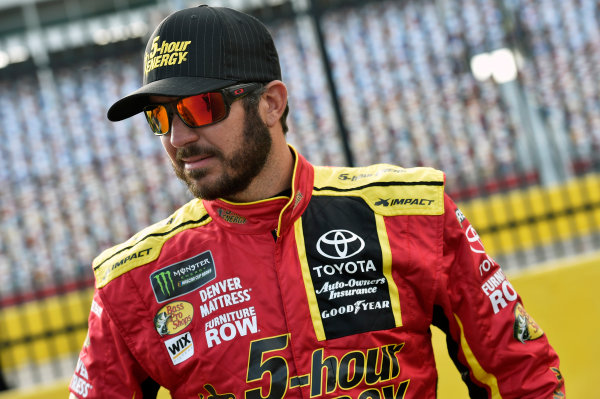 Monster Energy NASCAR Cup Series Monster Energy NASCAR All-Star Race Charlotte Motor Speedway, Concord, NC USA Friday 19 May 2017 Martin Truex Jr, Furniture Row Racing, 5-hour Energy Extra Strength Toyota Camry World Copyright: Nigel Kinrade LAT Images ref: Digital Image 17CLT1nk03065