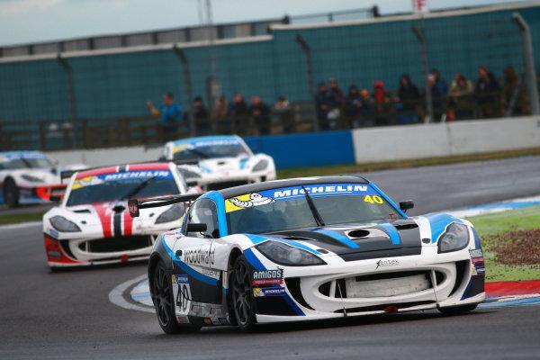 2017 Ginetta GT4 Supercup, Donington Park, 15th-16th April 2017 Alex Taylor Xentek Motorsport Ginetta G55 World copyright. JEP/LAT Images