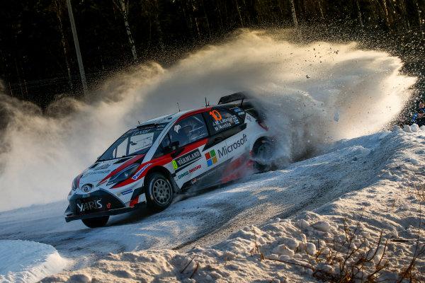 2017 FIA World Rally Championship, Round 02, Rally Sweden, February 09-12, 2017, Jari Matti Latvala, Toyota, Action, Worldwide Copyright: McKlein/LAT