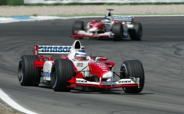 2003 German Grand Prix - Sunday Race,2003 German Grand Prix Hockenheim, Germany. 3rd August 2003 World Copyright: Steve Etherington/LAT Photographic ref: Digital Image Only