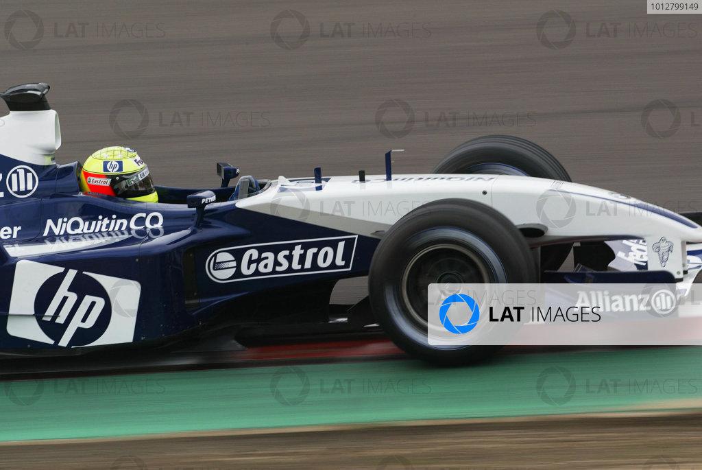 2003 European Grand Prix - Saturday Qualifying