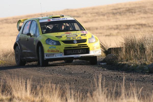 Round 15, Wales Rally GB, 4th-7th December 2008PG Andersson, Suzuki, ActionWorldwide Copyright: McKlein/LAT